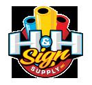 H&H Sign Supply Blog Logo
