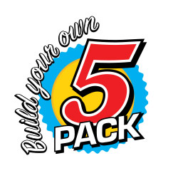 Build Your Own 5 pack