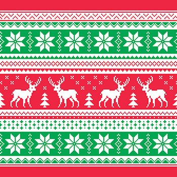Christmas Sweater Pattern.12 Christmas Sweater Laminated Vinyl By The Foot